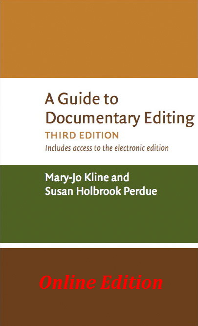 [A Guide 		to Documentary Editing]